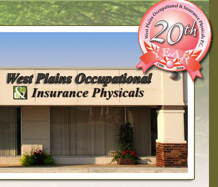 West Plains Occupational & Insurance Physicals PC